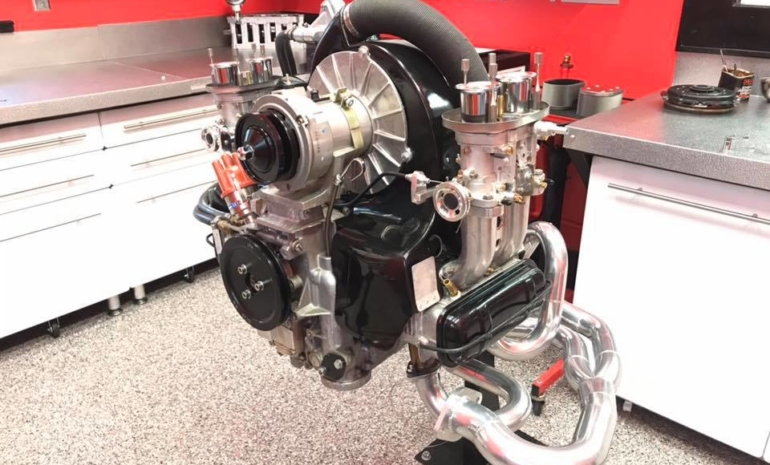 "2270cc ""SS"" complete engine."