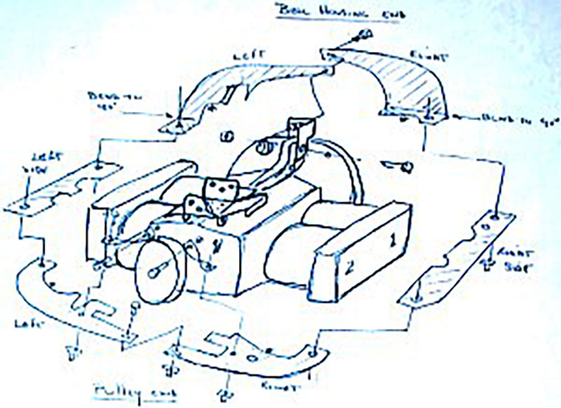 dtm cooling systems for vw type 1 and vw type 4 upright conversions  ln engineering